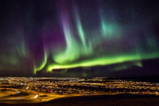 Asiatische Länder sind besonders fasziniert von Aurora Borealis. (Bild: Ragnar Th. Sigurdsson)