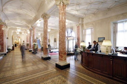 Eingangshalle Schweizerhof