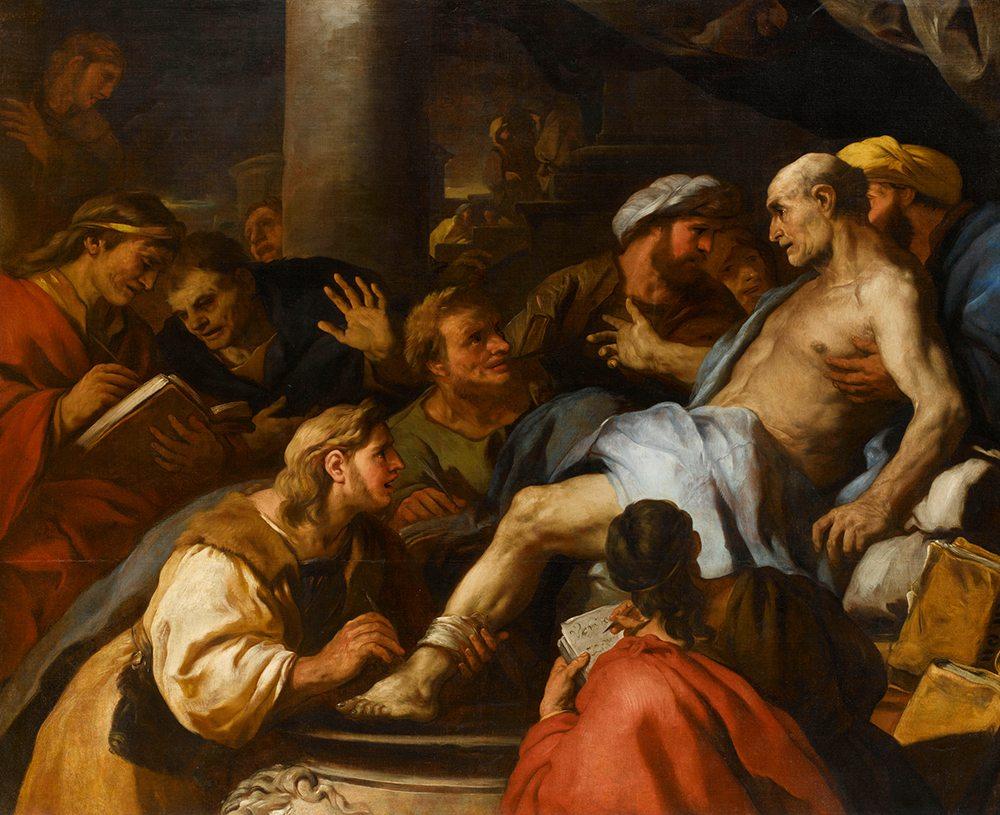 Luca Giordano (1634-1705): Tod des Seneca Paris, Musée du Louvre, department des Peintures (Foto: ©bpk / RMN Grand Palais / Stéphane Maréchalle)