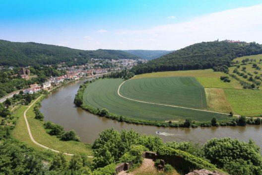 Die Landschaft bei Odenwald (Bild: nnattalli – Shutterstock.com)