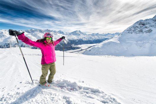 In St. Moritz beginnt am 22. Oktober bereits die Wintersaison. (Bild: michelangeloop – Shutterstock.com)