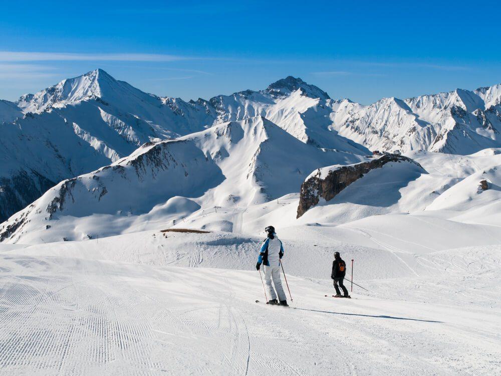 Skispass in Samnaun (Bild: © Pyty - shutterstock.com)