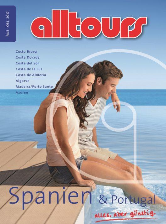 """alltours baut Spanien massiv aus - erstmals wird der Katalog """"Spanien & Portugal"""" aufgelegt. (Bild: obs/alltours flugreisen gmbh)"""