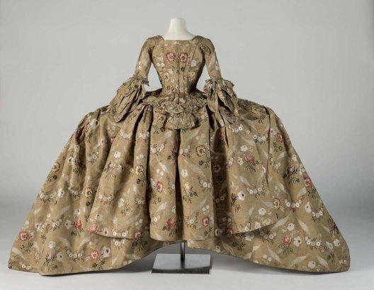 Hofrobe, 18. Jahrhundert (Robe and Petticoat) 1748–1750 (Bild: © Courtesy Fashion Museum Bath)