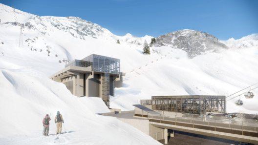 Animation Talstation Alpe Rauz (Bild: © Ski Arlberg/Pool West)