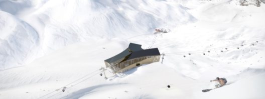 Animation Zwischenstation Trittkopf (Bild: © Ski Arlberg/Pool West)