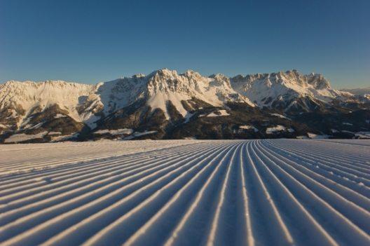 Die SkiWelt Wilder Kaiser-Brixental erstreckt sich über 284 bestens präparierte Pistenkilometer. (Bild: © TVB Wilder Kaiser/Chris Thomas)