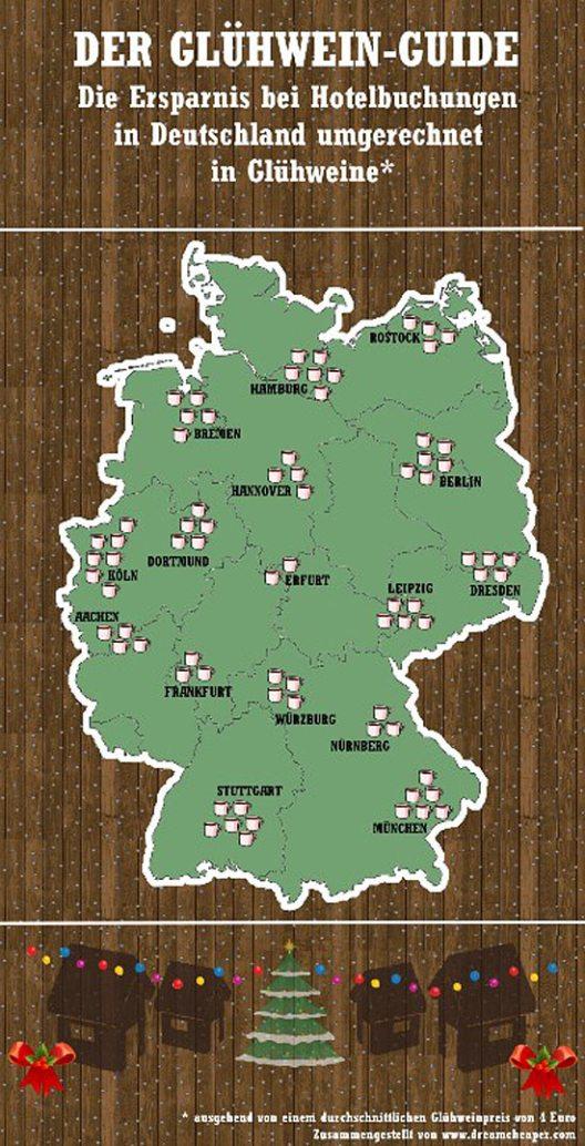 Der Glühwein-Guide Deutschland (Bild: DreamCheaper Global GmbH)