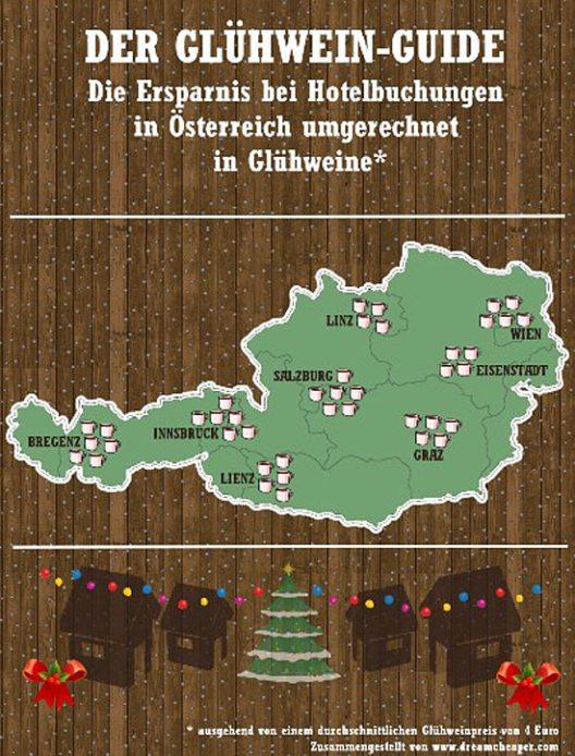 Der Glühwein-Guide Österreich (Bild: DreamCheaper Global GmbH)