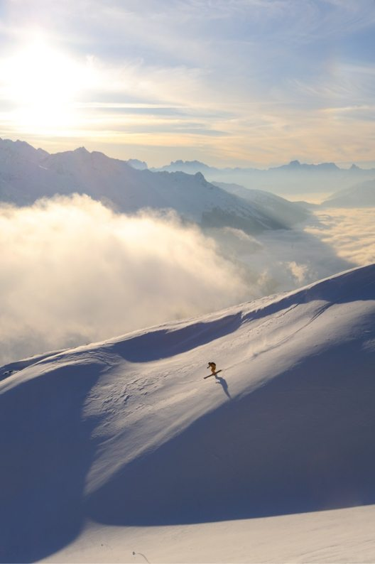 Freeriden Alpe Rauz, Arlberg (Bild: © Josef Mallaun)