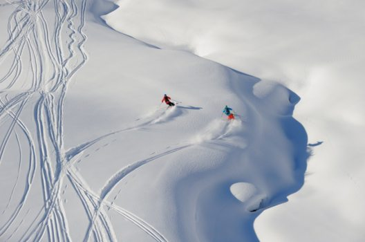 Freeriding im Arlberggebiet (Bild: © Sepp Mallaun)