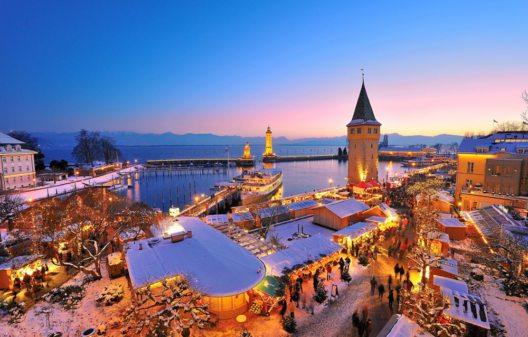 Hafenweihnacht Lindau (Bild: © Boutique Resort Hotel Helvetia)