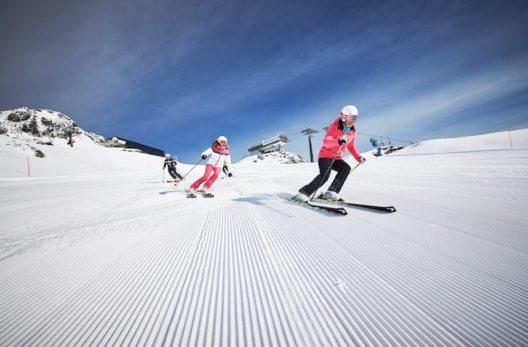 """Maria Höfl-Riesch ist """"Schneebotschafterin"""" in Obertauern"""