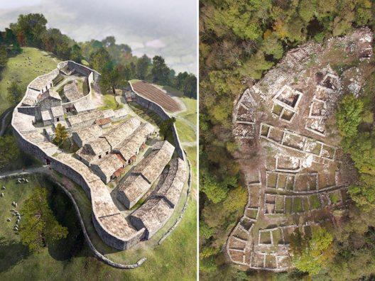 Seit September 2016 ist der Archäologiepark von Tremona Castello auf dem Monte San Giorgio offiziell eröffnet.