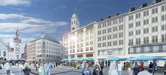 Rendering Marienplatz Credit Bayerische Hausbau (Bild: © Bayerische Hausbau)