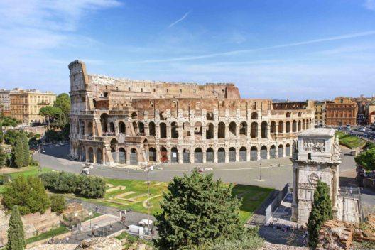 Italien, Rom - Kolosseum