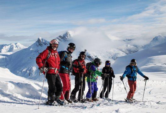 Ski Ride Vorarlberg (Bild: © Markus Gmeiner/Vorarlberg Tourismus)