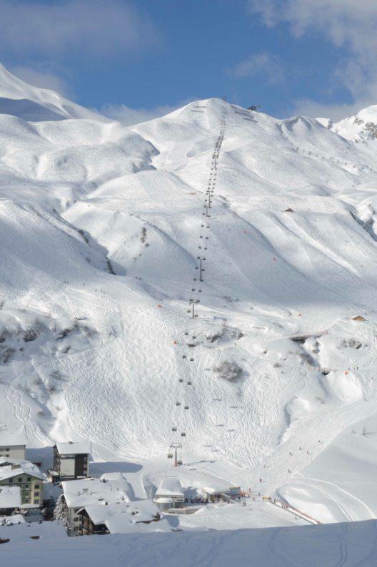 Skigebiet Lech Zürs am Arlberg (Bild: © Lech Zürs Tourismus/Sepp Mallaun)
