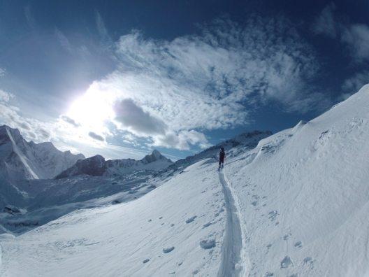 Skitour auf den Tristkogel am Kapruner Kitzsteinhorn (Bild: © Stephan Obenaus)
