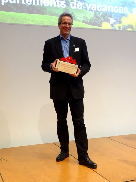 Gewinner Engadin St. Moritz, repräsentiert durch Stefan Sieber (Bild: © STV)