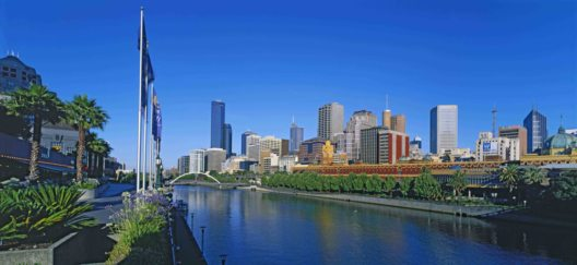 Australien, Melbourne - der Fluss Yarra