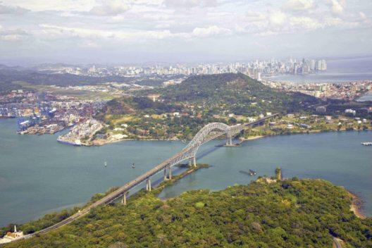 """Panama - die """"Bridge of the Americas"""""""