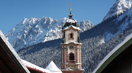 St. Peter und Paul im Winter. (Bild: © Alpenwelt Karwendel)