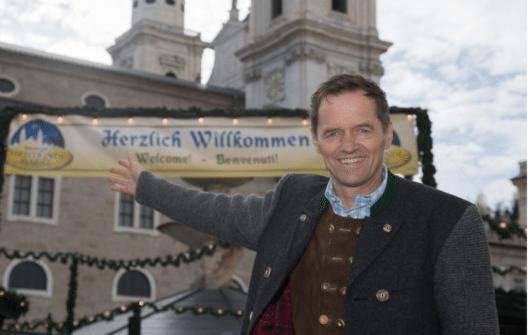 Christkindlmarkt-Obmann Wolfgang Haider legt grossen Wert auf Tradition, Beständigkeit und regionales Handwerk.