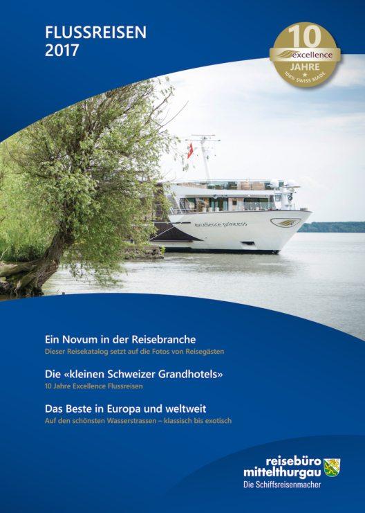 Katalog Excellence Flussreisen 2017 (Bild: obs/Reisebüro Mittelthurgau Fluss- und Kreuzfahrten)
