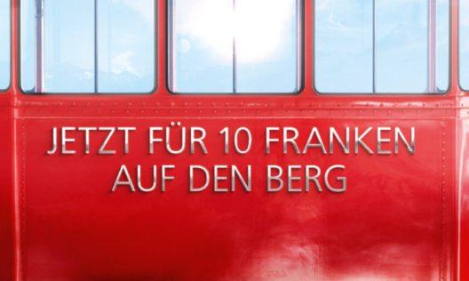 feature post image for Grosser Erfolg  der UBS-Bergaktion - über 360 000 eingelöste Retourbillette