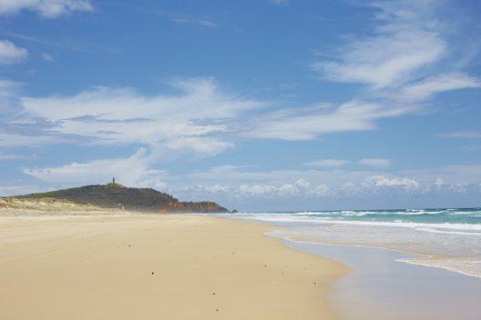 Beach Moreton Island QLD (Bild: Tourism Australia)