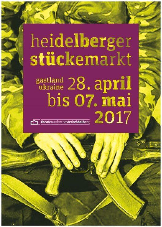 Stückemarkt (Plakat: © Theater und Orchester Heidelberg)