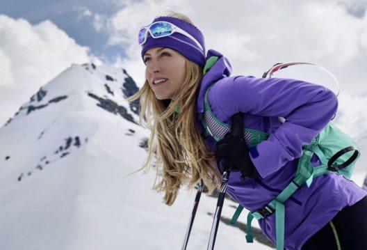 """Die Bergsportlerin Gela Allmann präsentiert in Ramsau am Dachstein ihren Film """"One Step"""" und referiert über den harten Weg zurück nach ihrem schweren Bergunfall. (Bild: bauerfeind)"""