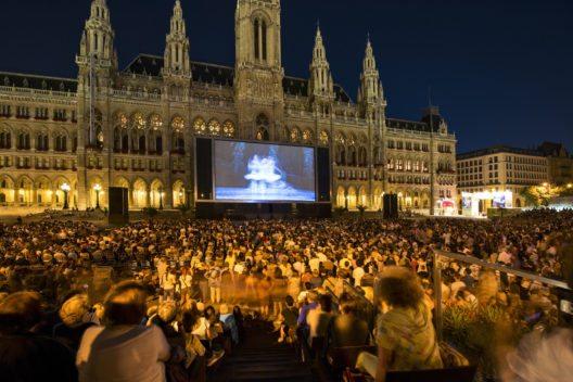 Musik-film festival Rathausplatz (Bild: © WienTourismus Christian Stemper)