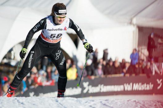 FIS Tour de Ski im Val Müstair. In Tschierv im Val Müstair beginnt an Silvester und Neujahr 2016/17 die nächste FIS Tour de Ski. (Bild: © Dominik Täuber)