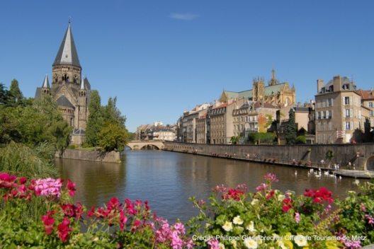 Metz Au bord de la Moselle