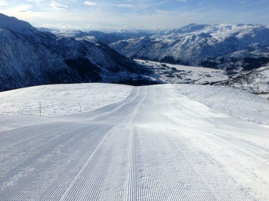 Top-präparierte Pisten und jede Menge Naturschnee erleben Wintersportler im norwegischen Skiresort.de-Geheimtipp Myrkdalen