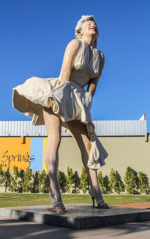 Palm Springs-Marilyn Statue