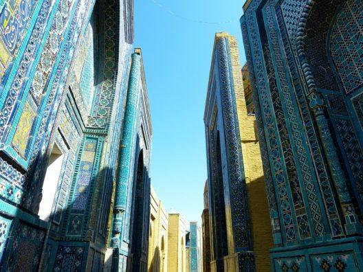Usbekistan-Gebäude