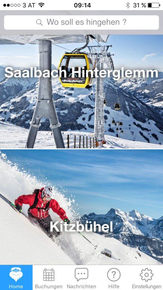 Mit Hilfe der CheckYeti-App können Wintersportangebote von Skischulen, Skilehrern oder Freeride-Guides am Smartphone gesucht, verglichen und sofort gebucht werden. Zur Auswahl stehen über 1.500 Angebote aus mehr als 200 Skigebieten.