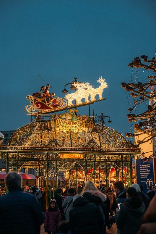 #HolyHamburg: Weihnachtsmärkte & stille Nächte in der Weihnachtsmetropole des Nordens (Bild: © obs/Hamburg Marketing GmbH)