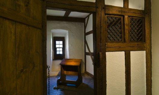 Die Mönchszelle, in dem der Revolutionär als Augustiner Eremit von 15054 bis 1511 wohnte. (Bild ©Thüringer Tourismus GmbH (TTG)