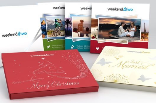Weekend4two Geschenkbox - das perfekte Wochenende (Bild: ©weekend4two)