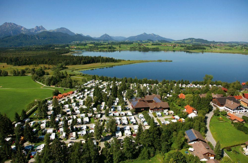 Camping Hopfensee, Bayern, Deutschland (Bild: Camping.Info GmbH)