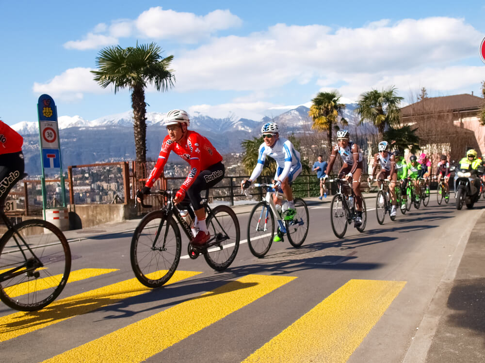 Die Region Lugano heisst Sportfans willkommen. (Bild: Mor65_Mauro Piccardi - shutterstock.com)