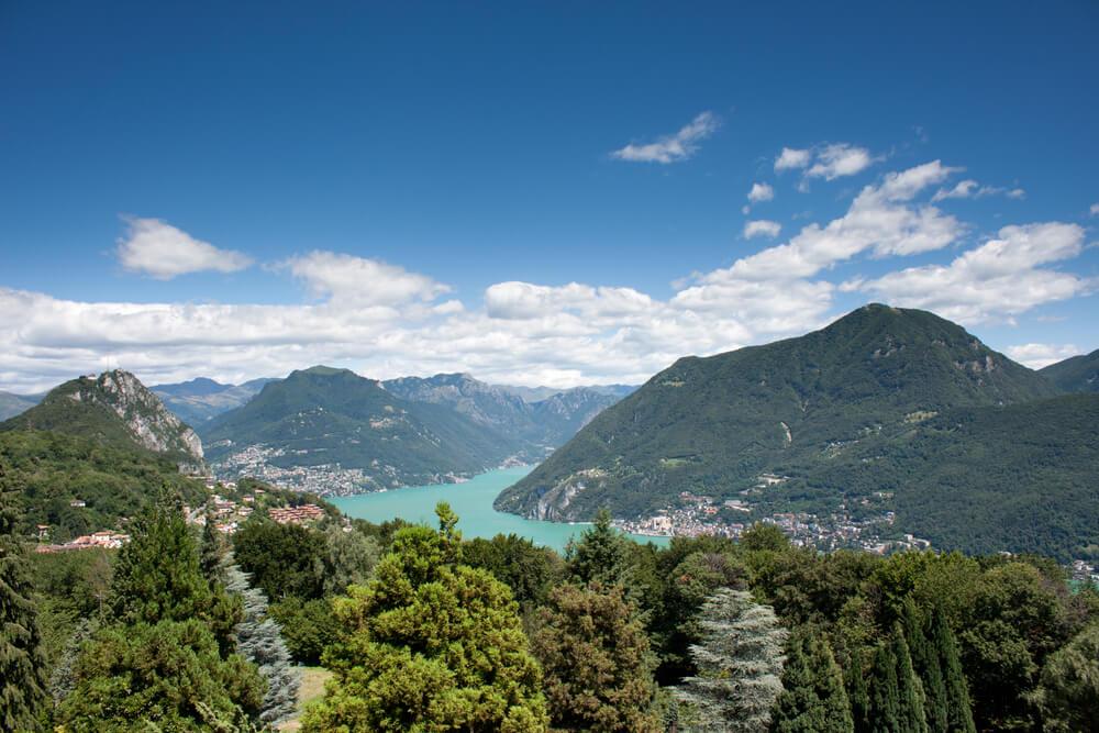 Lugano - Blick vom Parco San Grato (Bild: Andrejs83 - shutterstock.com)