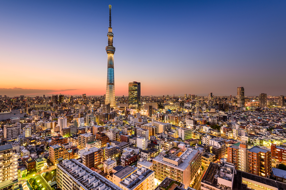 Tokyo Skytree, Tokio (Bild: Sean Pavone - shutterstock.com)