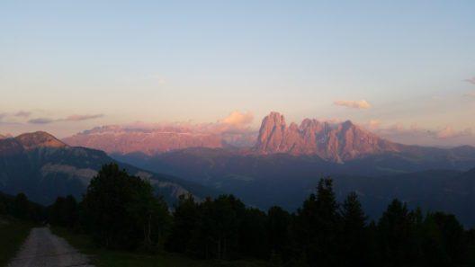 Naturschauspiel im Val Gardena