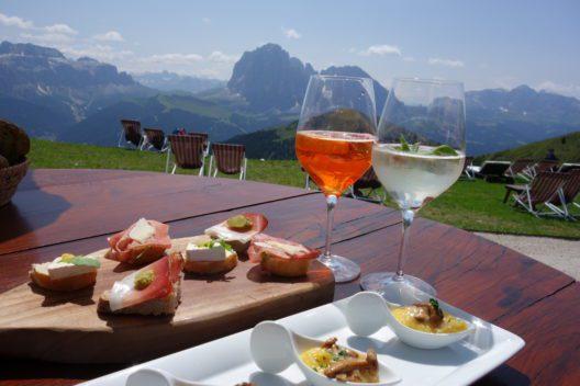 Kulinarischer Genuss im Val Gardena