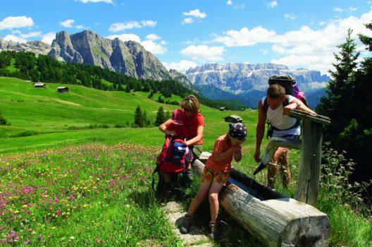 Im Val Gardena gibt es tolle Erlebnisse für die ganze Familie.